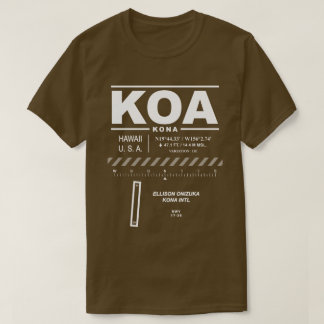 Kona International Airport KOA T-Shirt