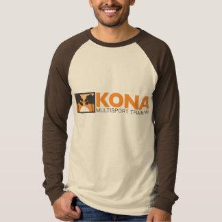 Kona long sleeve jersey w/ orange logo T-Shirt