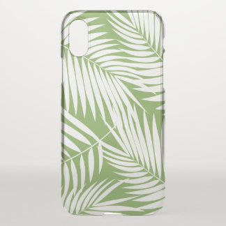 Kona Palms Hawaiian Leaf Tropical Green iPhone X Case