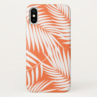 Kona Palms Hawaiian Leaf Tropical iPhone X Case