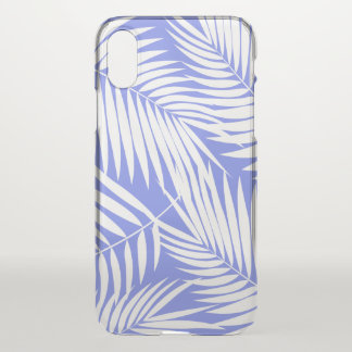 Kona Palms Hawaiian Leaf Tropical Lavender iPhone X Case