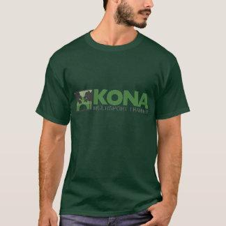 KONA T- shirt w/ green logo. (front only)