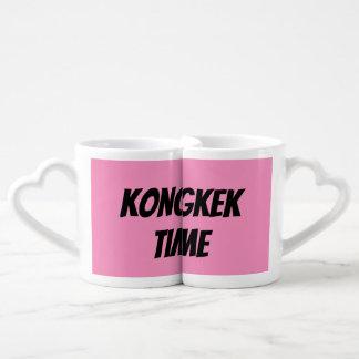 Kongkek Time Love Mugs