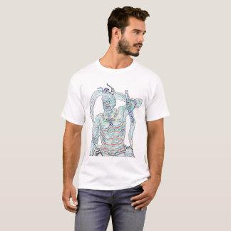 Kongo Rikishi digital statue T-Shirt