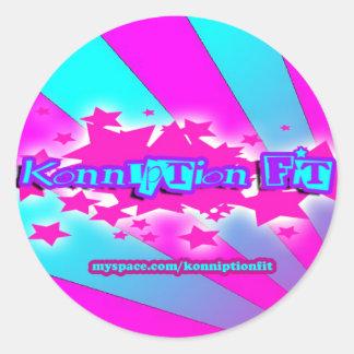 Konniption Fit Ransom Stickers