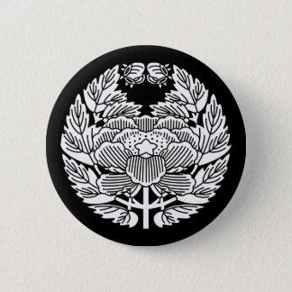 Konoe botan 6 cm round badge