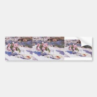 Konstantin Korovin- On a Sea Shore Bumper Sticker
