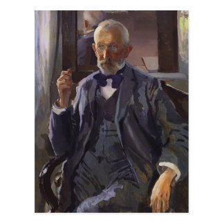 Konstantin Somov- Portrait of A. Somov Postcard