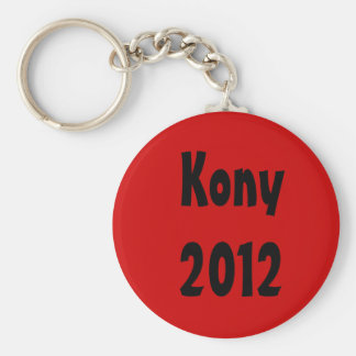Kony 2012 key ring