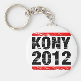 Kony 2012 Movement Basic Round Button Key Ring