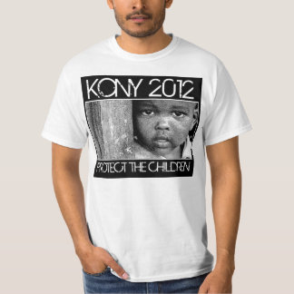 KONY 2012 - Protect The Children T-Shirt