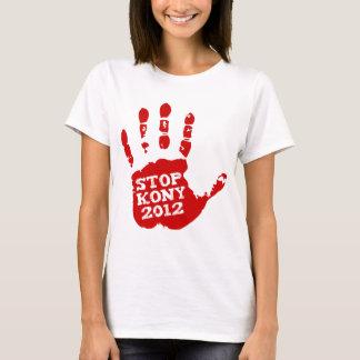 Kony 2012 Red Handprint Stop Joseph Kony T-Shirt