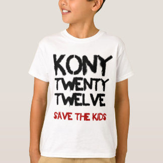"Kony 2012 - ""Save the Kids""   Shirt"