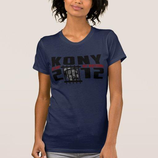 Kony 2012 - Stop at Nothing T Shirts