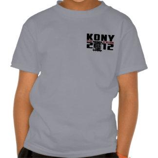 Kony 2012 - Stop at Nothing Tee Shirts