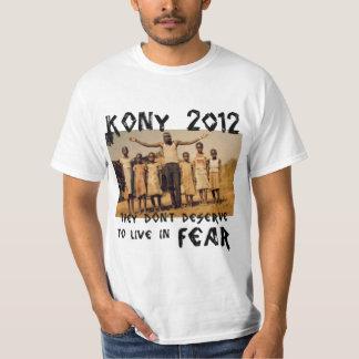 KONY 2012 - Stop the Fear T-Shirt