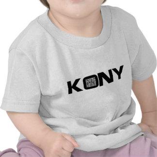 Kony 2012 Video QR Code Joseph Kony Tshirt