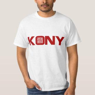 Kony 2012 Video Red QR Code Joseph Kony T Shirt