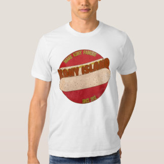 Kony Island hotdog shirt