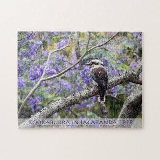 Kookaburra and Jacaranda Jigsaw Puzzle