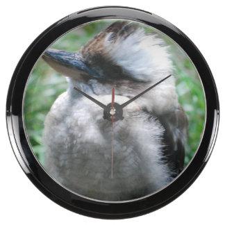 Kookaburra Aqua Clock
