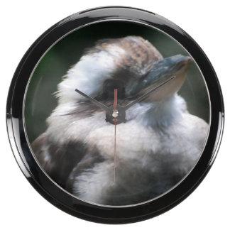 Kookaburra Aquavista Clock