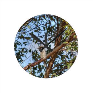 KOOKABURRA AUSTRALIA WITH ART EFFECTS WALLCLOCK