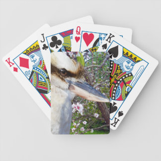 Kookaburra Beside A Blossom Tree, Bicycle Playing Cards