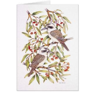 Kookaburra Greeting Cards