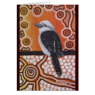 KOOKABURRA DREAMING GREETING CARD