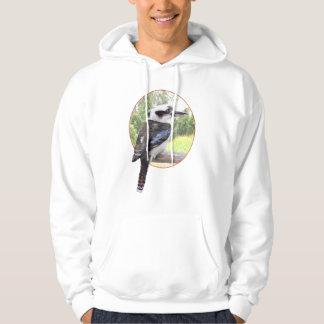 Kookaburra in Circle Hoodie