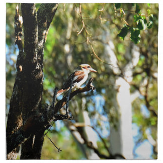 KOOKABURRA IN TREE QUEENSLAND AUSTRALIA NAPKIN