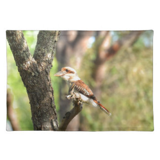 KOOKABURRA IN TREE QUEENSLAND AUSTRALIA PLACEMAT