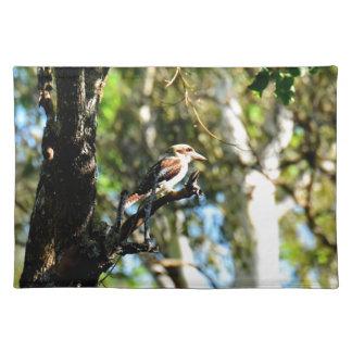 KOOKABURRA IN TREE QUEENSLAND AUSTRALIA PLACEMAT