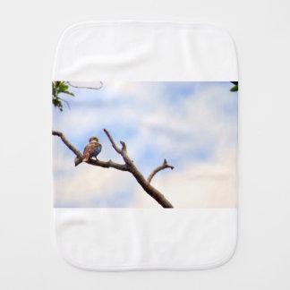 KOOKABURRA QUEENSLAND AUSTRALIA BURP CLOTH