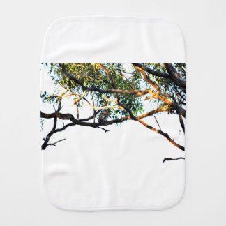 KOOKABURRA RURAL QUEENSLAND AUSTRALIA BURP CLOTH