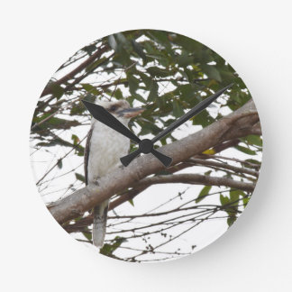 KOOKABURRA RURAL QUEENSLAND AUSTRALIA WALL CLOCK