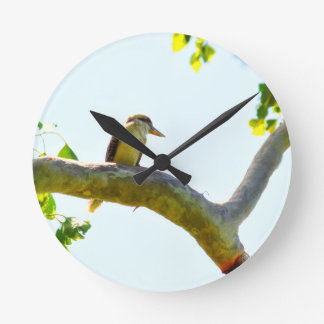 KOOKABURRA RURAL QUEENSLAND AUSTRALIA WALLCLOCKS