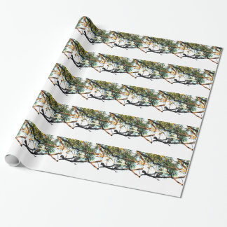 KOOKABURRA RURAL QUEENSLAND AUSTRALIA WRAPPING PAPER