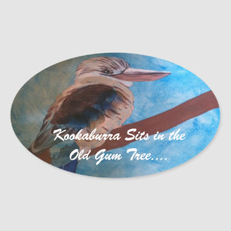 """Kookaburra"" stickers"