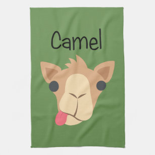 Kooky Camel Tea Towel