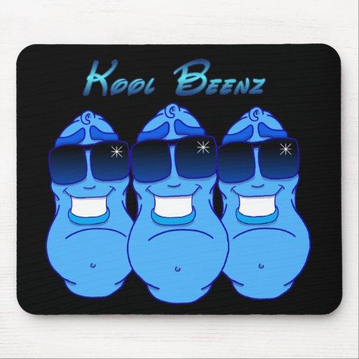 Kool Beenz ~ feat Big Blue Mouse Mat
