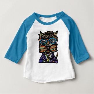 """""""Kool Kat"""" Baby 3/4 Raglan T-Shirt"""