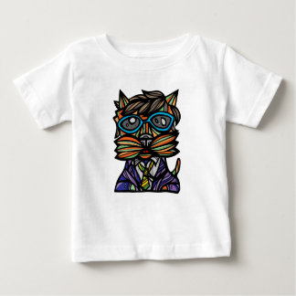 """Kool Kat"" Baby Fine Jersey T-Shirt"