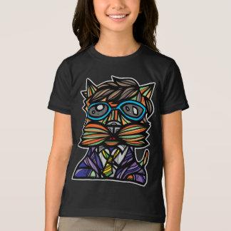 """Kool Kat"" Girls' American Apparel T-Shirt"