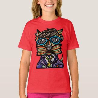 """""""Kool Kat"""" Girls' TAGLESS® T-Shirt"""