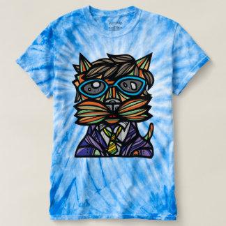 """Kool Kat"" Men's Cyclone Tie-Dye T-Shirt"