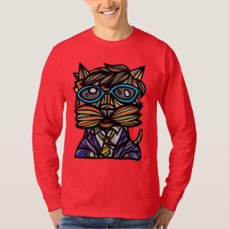"""Kool Kat"" Men's Long Sleeve T-Shirt"