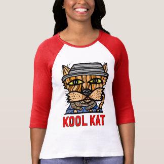 """Kool Kat"" Women's 3/4 Sleeve Raglan T-Shirt"