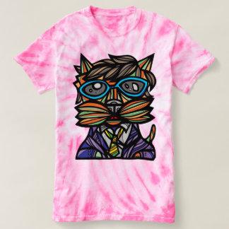 """Kool Kat"" Women's Cyclone Tie-Dye T-Shirt"